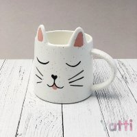 "Кружка""Cute cat"", white (350ml)"